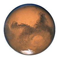 Planet Mars in Age Calculator article