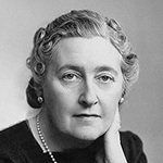 Picture of Agatha Christie,  Mystery novelist