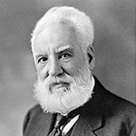 Picture of Alexander Graham Bell,  Inventor of the telephone