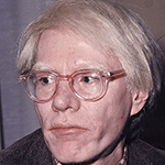 Picture of Andy Warhol,  Pop Art movement