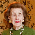 Picture of Anne Cox Chambers,  Billionaire, former US Ambassador to Belgium