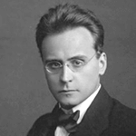 Picture of Anton Webern,  Atonal composer