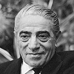 Picture of Aristotle Onassis,  Greek shipping tycoon