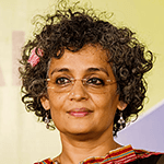 Picture of Arundhati Roy,  The God of Small Things