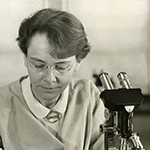 Picture of Barbara McClintock,  Discovered transposable genes