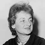 Picture of Betty Friedan,  Rights for women spokesperson