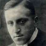 Picture of Carl von Ossietzky,  German pacifist, Nobel Prize recipient