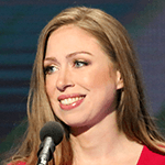 Picture of Chelsea Clinton,  Daughter of Hillary and Bill Clinton