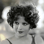 Picture of Clara Bow,  Schizophrenic actress, Wings