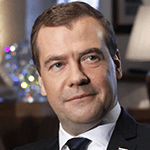Picture of Dmitri A. Medvedev,  President of Russia, 2008-12