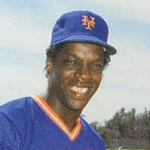 Picture of Dwight Gooden,  Pitcher, New York Mets