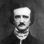 Picture of Edgar Allan Poe,  The Raven