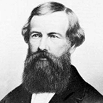 Picture of Elisha Otis,  Invented the safety elevator