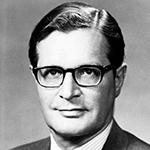Picture of Elliot Richardson,  Refused to fire Watergate Special Prosecutor