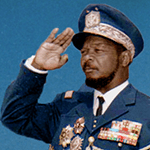 Picture of Emperor Bokassa I,  Central African Emperor