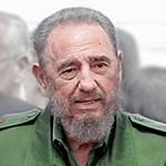 Picture of Fidel Castro, Dictator of Cuba for almost fifty years