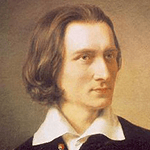 Picture of Franz Liszt,