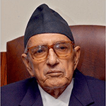 Picture of G. P. Koirala,  Four-Time Prime Minister of Nepal