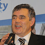 Picture of Gordon Brown,  UK Prime Minister, 2007-10
