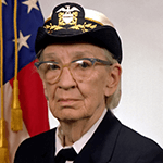Picture of Grace Murray Hopper,  Computer programming pioneer
