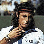 Picture of Guillermo Vilas,  Winner of 4 Grand Slam titles