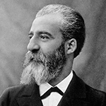 Picture of Henri Moissan,  Isolated fluorine