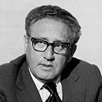 Picture of Henry Kissinger,  US Secretary of State, 1973-77
