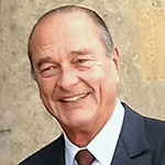 Picture of Jacques Chirac,  President of France, 1995-2007