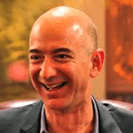 Picture of Jeff Bezos, Founder and chief executive officer of Amazon.com,