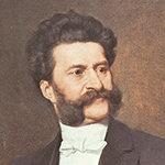 Picture of Johann Strauss II,  The Blue Danube