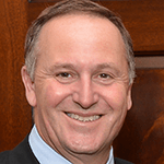 Picture of John Key,  Prime Minister of New Zealand