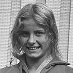 Picture of Kornelia Ender,  Four Olympic Gold Medals in 1976