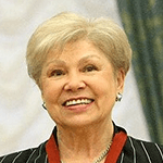 Picture of Larissa Latynina,  Soviet gymnast, 18 Olympic medals