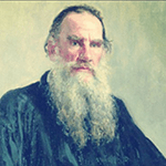 Picture of Leo Tolstoy,  Russian novelist