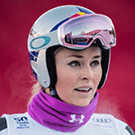 Picture of Lindsey Vonn,  Downhill skier, two Olympic medals