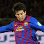 Picture of Lionel Messi, one of the best player in the word