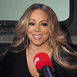 Picture of Mariah Carey,  Diva with eighteen #1 hits