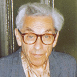 Picture of Paul Erdos,  Loved only numbers