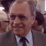 Picture of Pierre Beregovoy,  Prime Minister of France, 1992-93