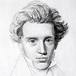 Picture of Soren Kierkegaard,  Father of existentialism