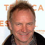 Picture of Sting,  Lead singer of The Police
