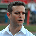 Picture of Theo Epstein,  General Manager, Chicago Cubs