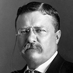 Picture of Theodore Roosevelt,  26th US President, 1901-09