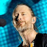 Picture of Thom Yorke,  Radiohead singer