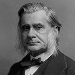 Picture of Thomas Henry Huxley,  Debated Wilberforce over evolution