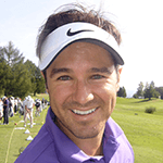 Picture of Trevor Immelman,  Winner of 2008 Masters Tournament