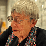 Picture of Ursula K. Le Guin,  The Left Hand of Darkness
