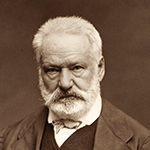 Picture of Victor Hugo,  Les Miserables