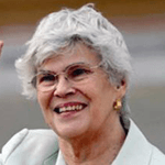 Picture of Violetta Chamorro,  President of Nicaragua, 1990-97