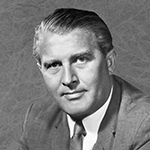 Picture of Wernher von Braun,  German-American rocket scientist